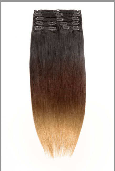 jet black hair extensions clip ins